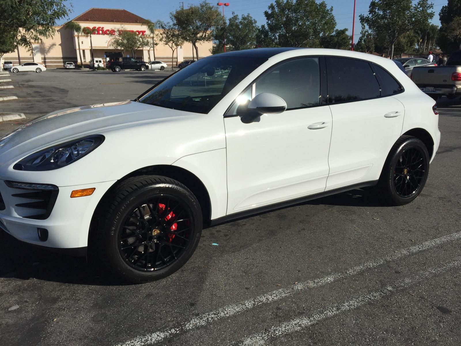 Porsche Macan Rims In Black Porsche Macan Forum