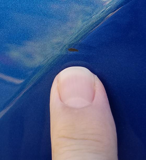 Tiny Paint Chip Porsche Macan Forum