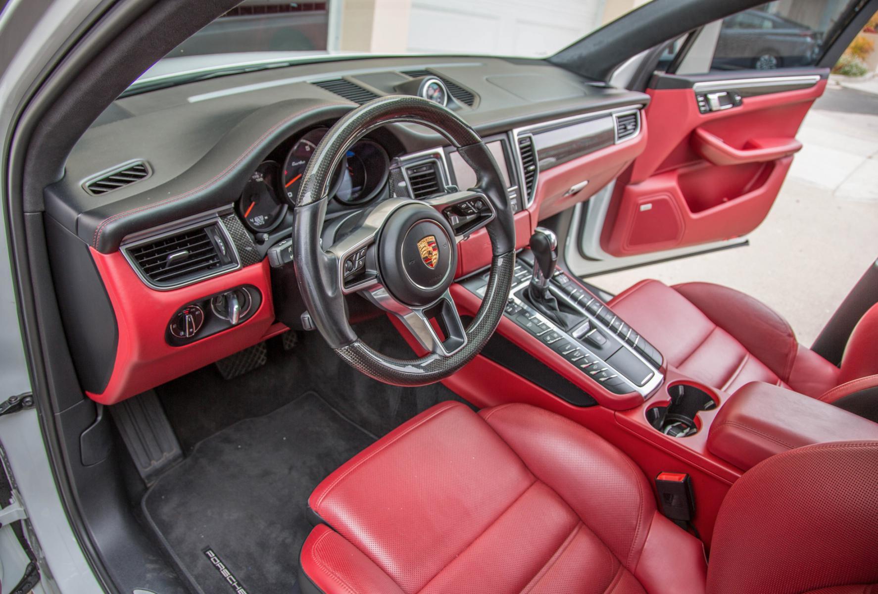 White Macan Turbo W Full Garnet Red Interior Porsche Macan Forum
