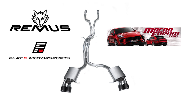 Remus Exhaust Systems Available! | Porsche Macan Forum