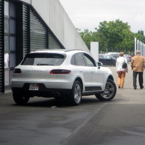 All set to drive out from Porsche Leipzig GmbH