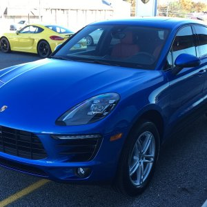2018 Macan S - 11/17/2017 At delivery
