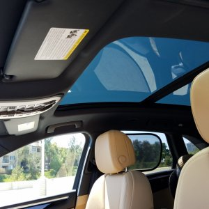 Panoramic Roof from Inside